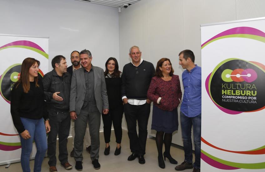 Presentación campañas de apoyo al consumo y creación cultural en Euskadi
