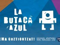 Cartel La Butaca Azul Diversidad Funcional SADE