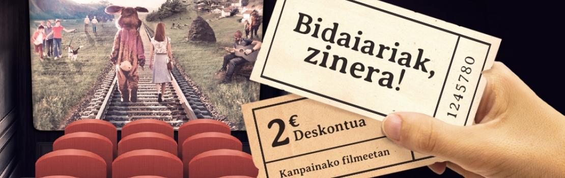 EZAE elkarteak euskal zinema bultzatuko du 'Bidaiariak zinera!' kanpainaren bitartez